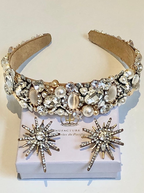 Milan Headband Gold/Silver