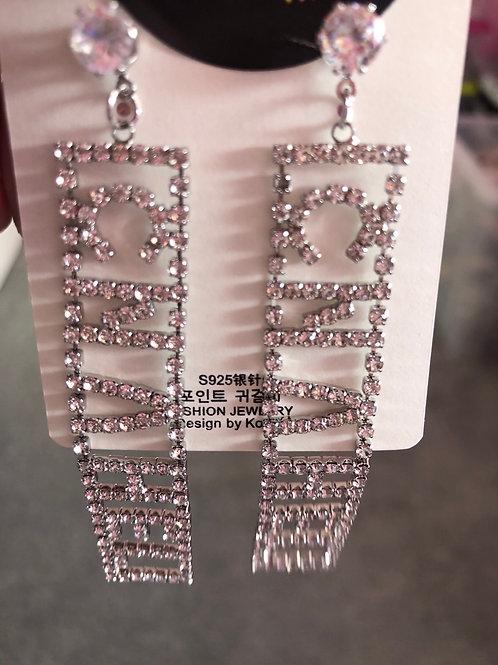 Dangle Earrings Silver