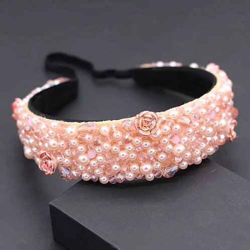 Tilley Headband Pink