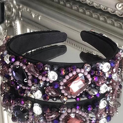 Roxanne Headband Purple