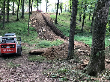 Trenching Middle TN.