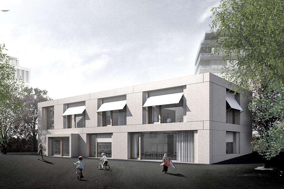 architecte Lausanne_APEMS_Riant-Pré