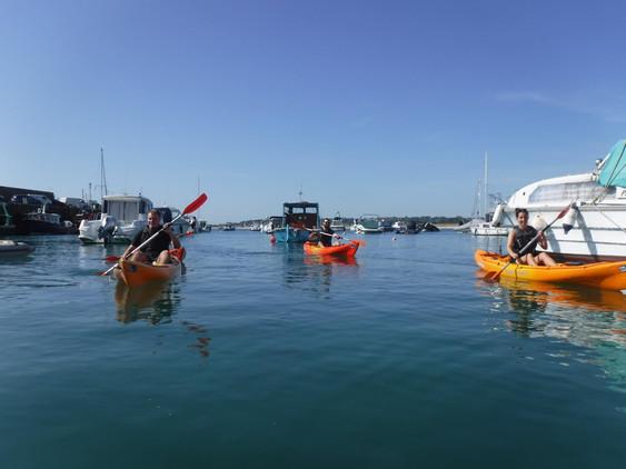 Kayaking in Jersey