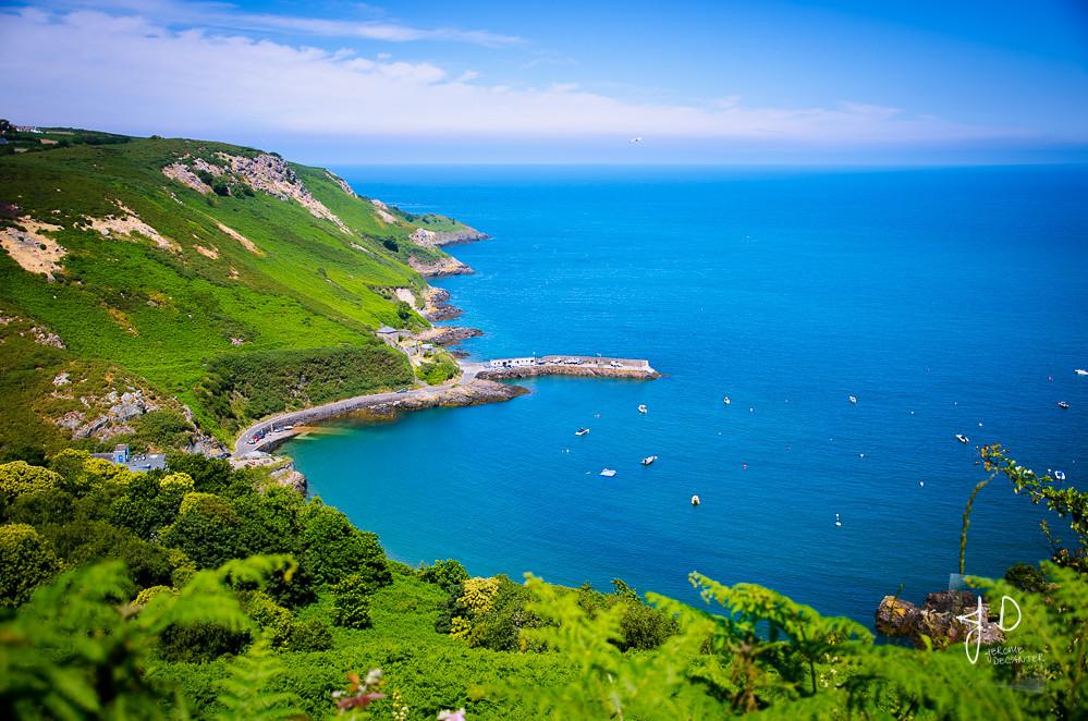 North Coast cliff path - Bouley Bay