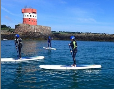 Stand Up Paddleboarding in Jersey