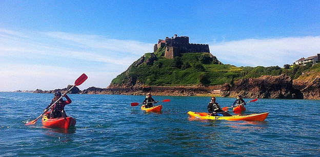 Kayaking with Jersey Adventures