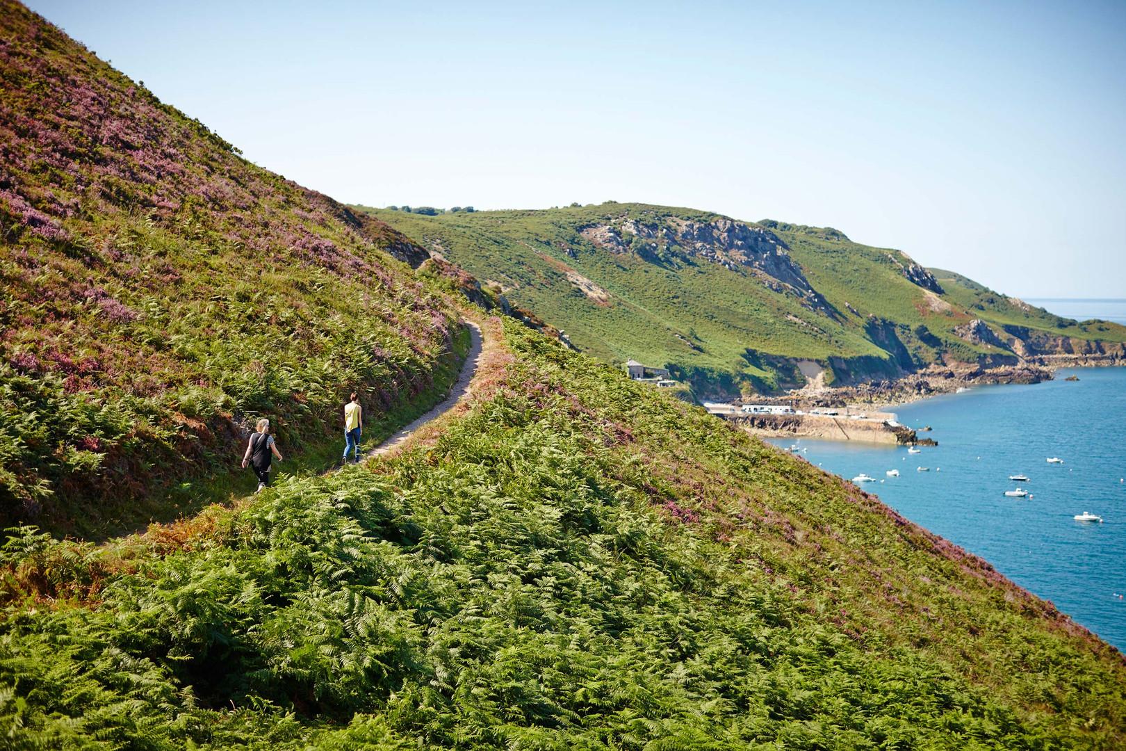 North Coast cliff paths