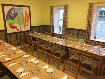 Jersey Hostel dining room