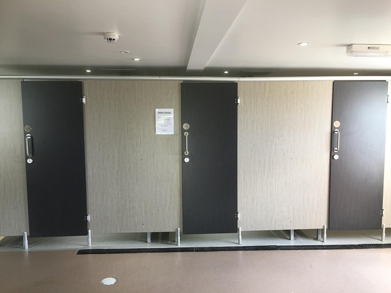 Campers washroom