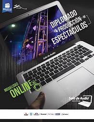 Diplomado online produccion espectaculos