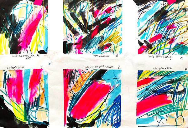 Feel Good Make Art gallery art