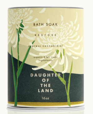 Daughters of The Land- Bath Salts Cypress