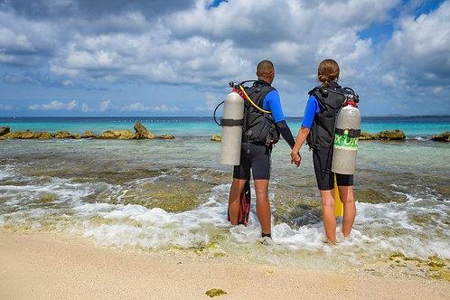 Marine Park Tag for Scuba Diver
