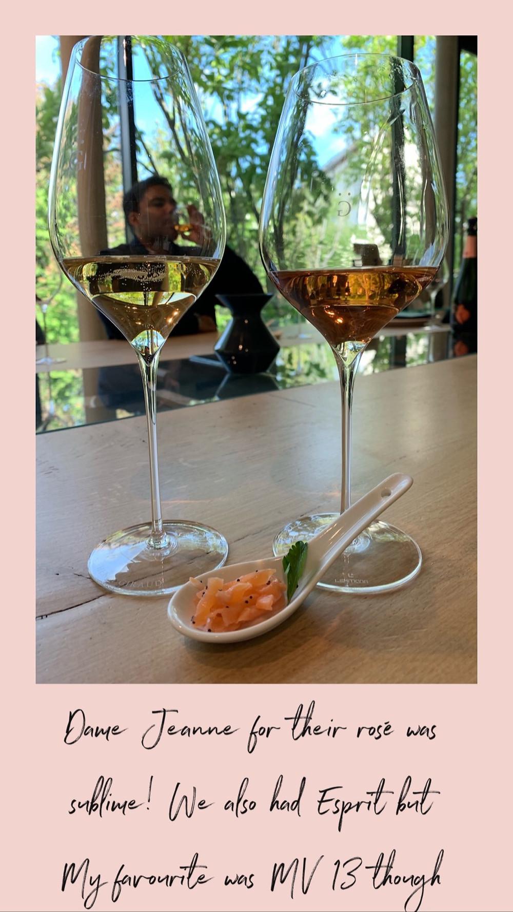 Champagne tasting at Henri Giraud