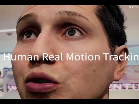 AI Human Real Motion Tracking _ 인공지능 스타트업 웨인힐스벤처스