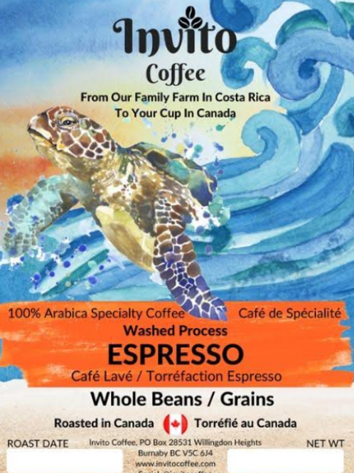 Espresso Roast Coffee Beans - 12 oz (340g)