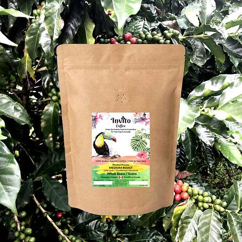 Medium Roast Coffee Beans - 12 oz (340g)