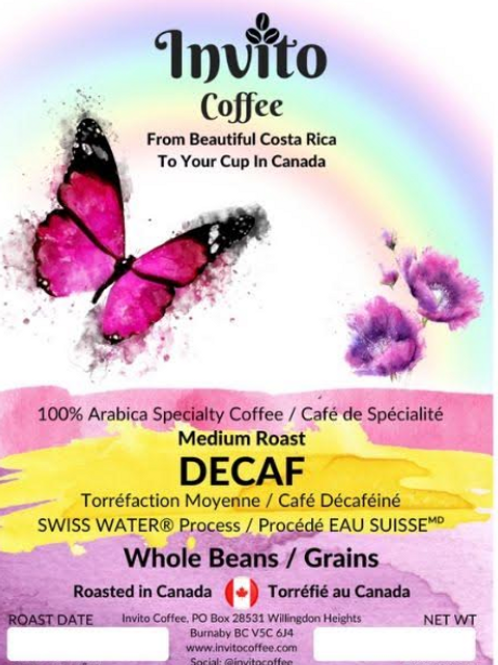 Decaf Coffee Beans - 12 oz (340g)