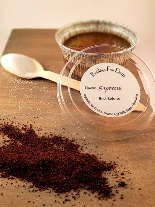 Espresso Crème Brûlée (frozen)