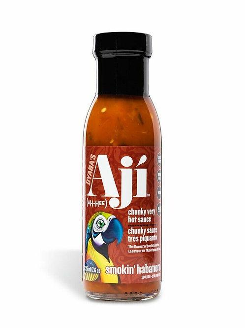 Aji Smokin' Habanero Hot Sauce