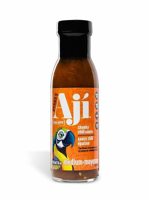 Aji Medium Hot Chunky Chili Sauce