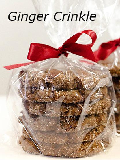 Ginger Crinkle Cookies (6-pack)
