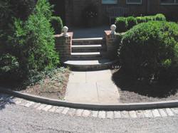 Mudroom Entry Steps