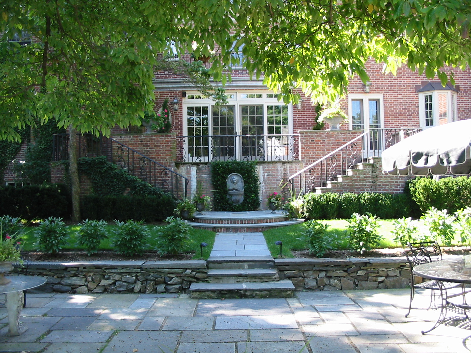 Formal Rear Gardens