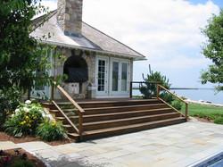 Grand Poolhouse steps