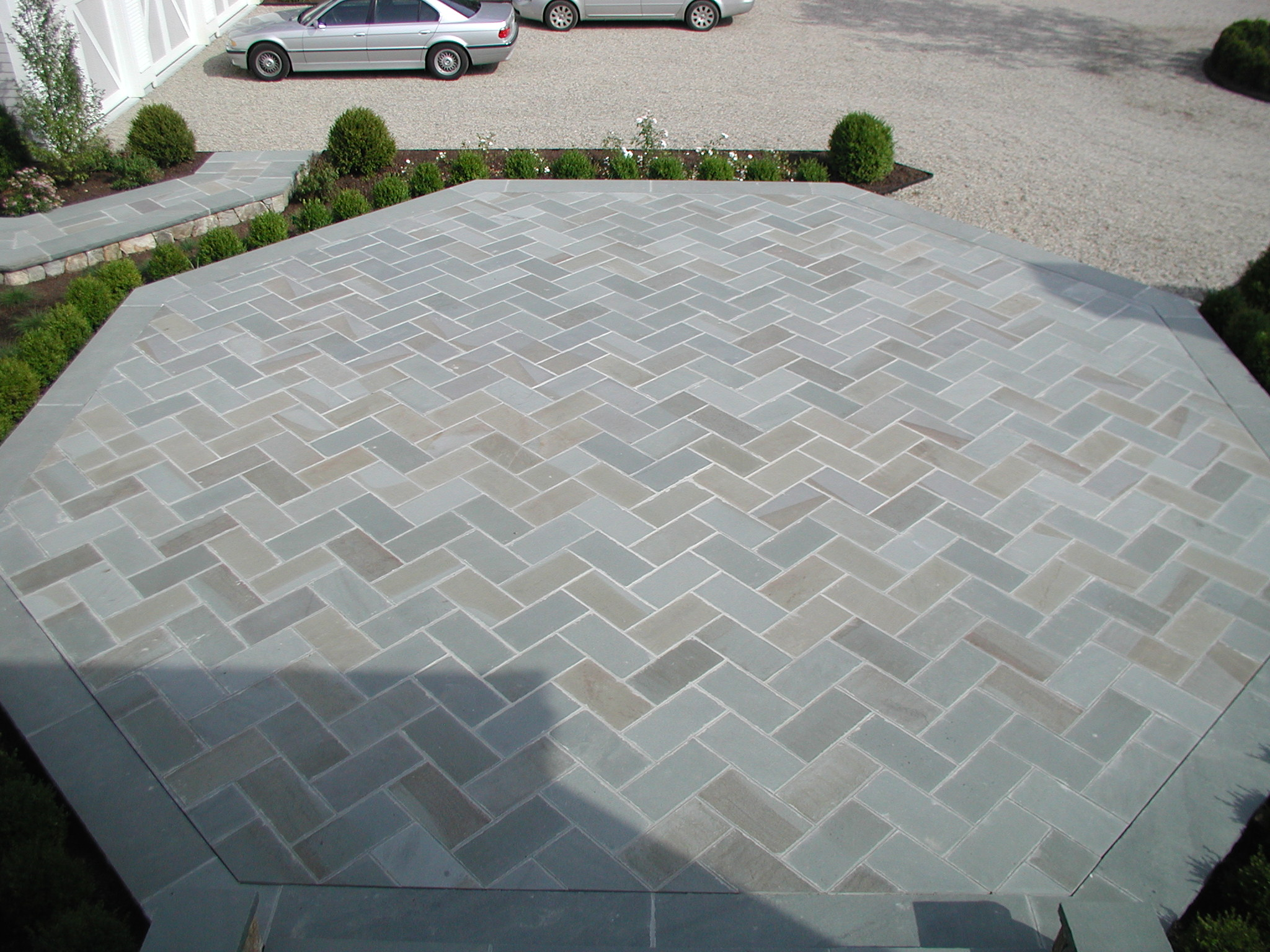 Herringbone Entry Patio