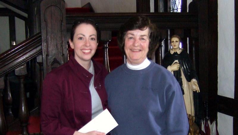 Amy Byers & Sister Jean Graffweg