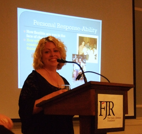 Carolyn Romano, 2011 Keynote Address