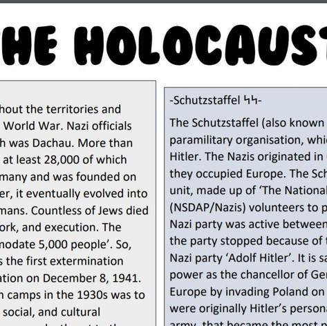 The Holocaust - Part 2