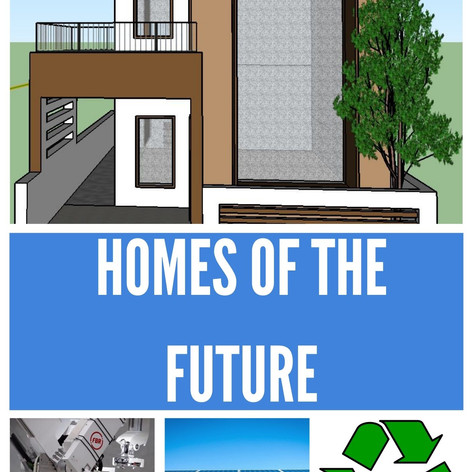 Tom S My project is a video about what homes will look like and how they will be built in fifty years. In my video I explain what the key differences are between a home right now and a home in fifty years' time and why these changes are happening. You will also see a virtual model of a house that represents what a home could look like in fifty years' time.