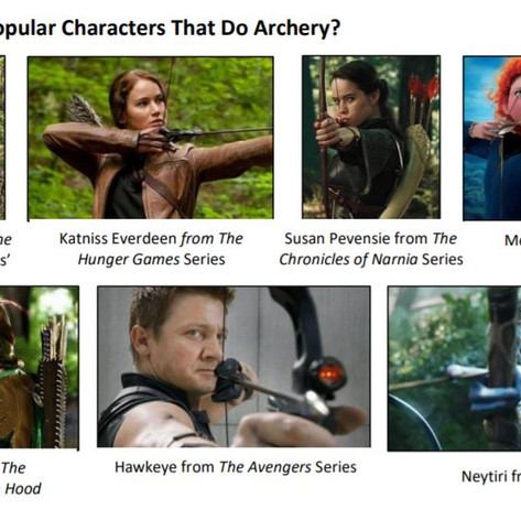 How has Archery Been Shown Throughout Time?