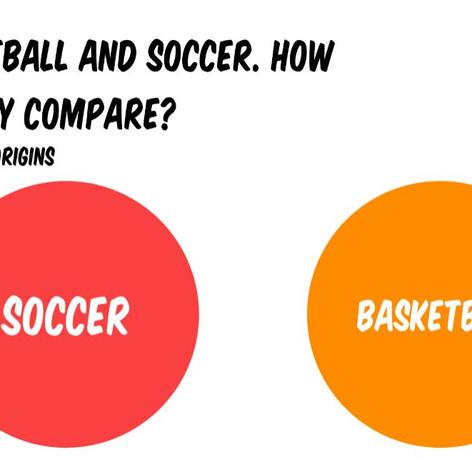 Basketball v Soccer