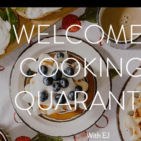 Cooking in Quarantine