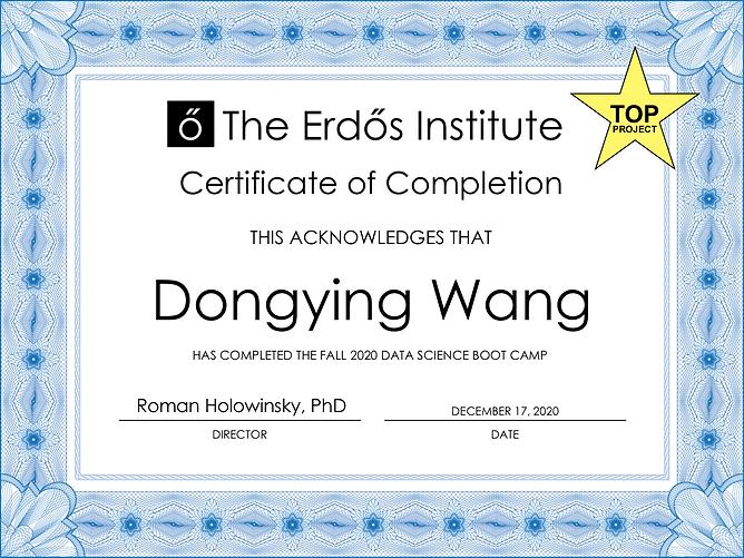 Dongying Wang