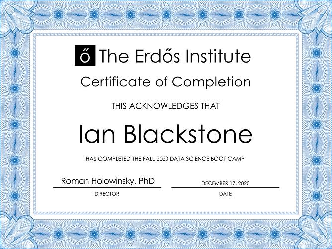 Ian Blackstone