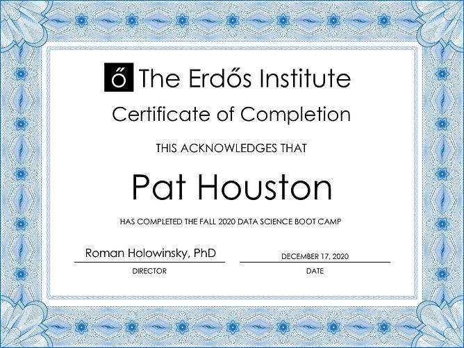 Pat Houston