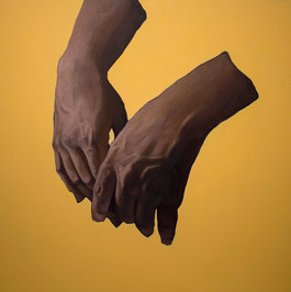 Carlene's Hands Resting