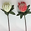 Thumbnail: Artificial Flower King Protea Flower Stem 73 cm long
