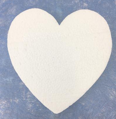 Polystyrene Heart Solid