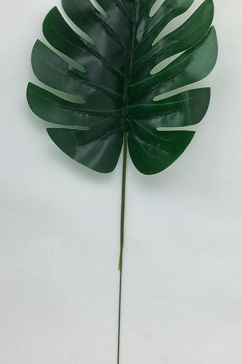 40 cm Artificial Split Philo/Monstera Leaf