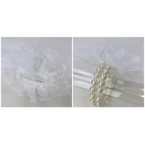 Corsage Wrist Bracelet Pearl Bead