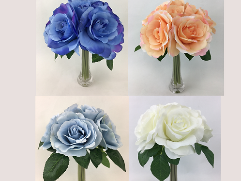 Large Roses Pre-made Bouquet