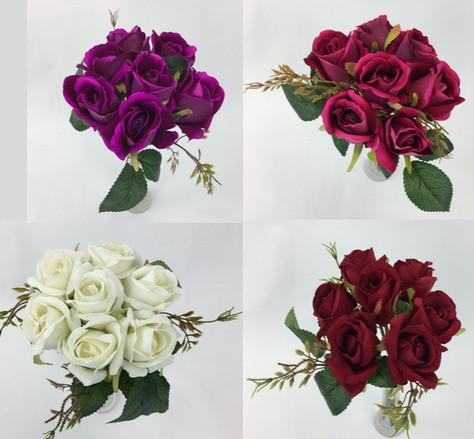 7 Rose Bud Bouquet