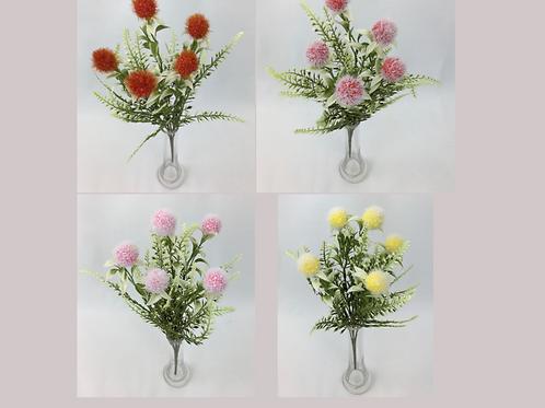 Ball Flower Bush X 5