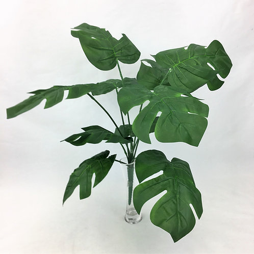 Artificial Greenery Split Leaf Philodendron Plant 55 cm long