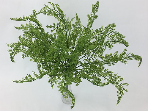 Artificial Greenery Real Touch Latex Boston Fern Green Bunch